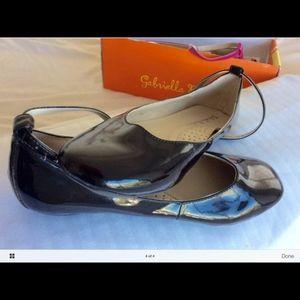Gabriella Rocha Ballerina MaryJane black Flats 6.5